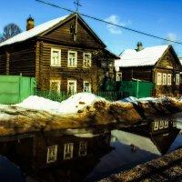 зимний солнечный день :: Сергей Кочнев