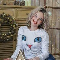 Киска Новогодняя :: Екатерина Беникаускене