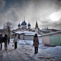 Прогулка по старым улицам Гороховца :: alecs tyalin