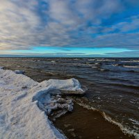 снежный берег :: Vitalij P