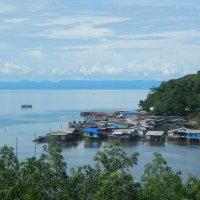 Остров Ко Куд. Вид из горных джунглей. Рыбачья деревушка. :: Лариса (Phinikia) Двойникова