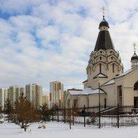 Церковь во имя Святого Великомученика Георгия Победоносца в Санкт-Петербурге :: И.В.К. ))