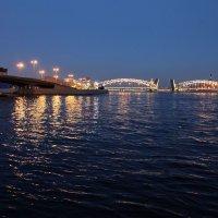На Неве в Белые ночи :: Наталья
