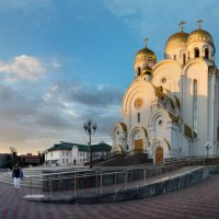 Храм в Красноярске :: Галина Щербакова