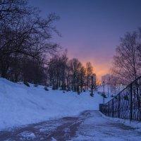 Вечерний вид в феврале :: Александр Орлов