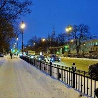 Большой проспект Васильевского острова... :: Sergey Gordoff