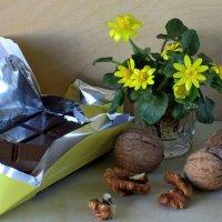 Шоколад с орехами :: Татьяна Смоляниченко