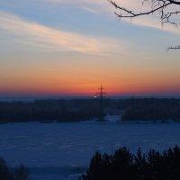 На восходе. :: Валерий Медведев
