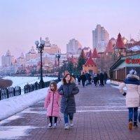 На Оболонской Набережной зимой :: Валентина Данилова