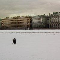 Прогулка по льду :: Aнна Зарубина