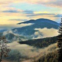 Утро с туманами :: Сергей Чиняев