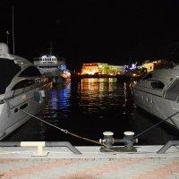 Вечер. Морской Порт. Сочи. :: Дмитрий Петренко
