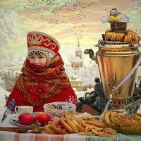 Вот и Масленица! :: Андрей Пристяжнюк