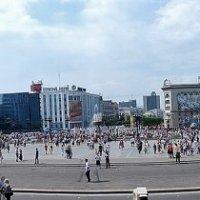 г .Хабаровск пл Ленина \\ панорама 180 градусов\\ :: Николай Сапегин
