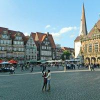 Marktplatz - Центральная площадь старого Бремена :: Андрей K.
