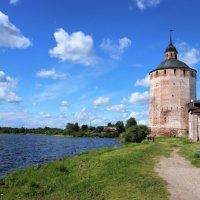 Кирилло-Белозерский монастырь,Сиверское озеро. :: Ираида Мишурко