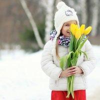 жёлтые тюльпаны... :: Олька Никулочкина