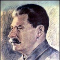 Портрет Сталина в военное время в  водонапорной башне Ленинграда :: Наталья