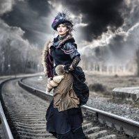 ...а что, если бы Анна Каренина была стимпанком? :: Наталья Сидорович