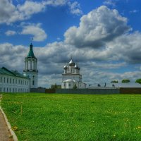 Весна в монастыре :: Ирина Крохмаль