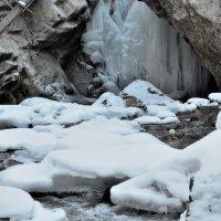 Зима на Медовых водопадах :: Мария Климова