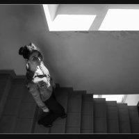 Лестница и солнечный свет :: Алексей Хвастунов