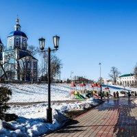 На набережной Тамбова. :: Александр Селезнев