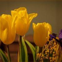 Букет с тюльпанами :: Олег Карташов