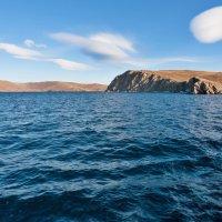 Облака над островом Ольхон :: Анатолий Иргл