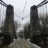 Пешеходный мост через р. Великая :: BoxerMak Mak