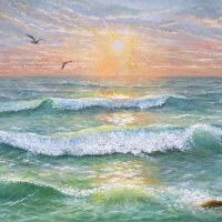 Море и чайки :: Эля Юрасова