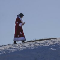 Дед Мороз заблудился... :: Вера