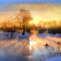 Пылающий закат февраля.. :: Андрей Войцехов