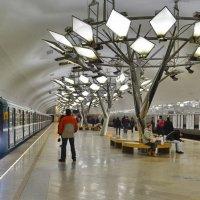 Станция метро Тропарёво. :: Анастасия Смирнова