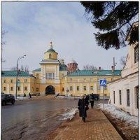 Покровский Хотьковский женский монастырь вид с реки :: Natalia Mihailova