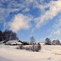 Улеглись в полях метели в белоснежные постели ... :: Евгений Юрков