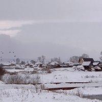 Вот моя деревня! :: Елена Тренкеншу