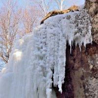 водопад Медовый зимой :: Мария Климова