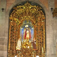 Один из алтарей церкви Dо Carmo. :: ИРЭН@ .