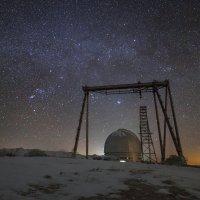 БТА на фоне зимнего Млечного Пути :: Olga Lakeeva