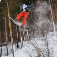 Магия сноубординга :: Дмитрий Шкредов