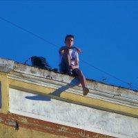 Презрительный взгляд сверху... :: Sergey Gordoff