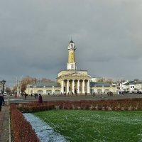 Старый центр Костромы, пожарная каланча :: Святец Вячеслав