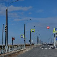 дорога вдоль Бульвара ,  а слева Финский залив :: Валентина Папилова