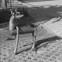 Собака Баскервилей. :: Ирина Атаманская