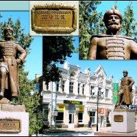 Азов. Памятник А. Шеину, первому генералиссимусу России :: Нина Бутко