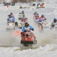 Гонки на снегоходах :: Олег Кулябин