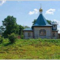 Сельский храм... :: марк