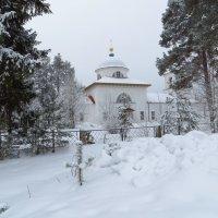 Зимний пейзаж. :: ВАЛЕНТИНА ИВАНОВА