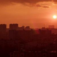 закат над городом /2017 :: Pasha Zhidkov